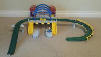 GeoTrax Train set - multi items - great shape - kids love them!