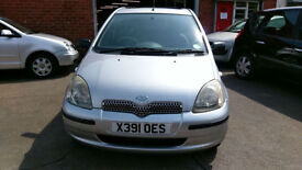 TOYOTA YARIS 1.0 GLS 5 DOOR 1 OWNER SINCE 2005 SILVER DRIVES SUPERB LOOKS NICE