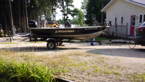 Legend Boat and trailer