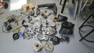85 kdx/kx 80 part out and 77 yz80 motor