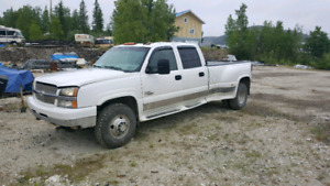2006 Chevy Silverado 3500 dually