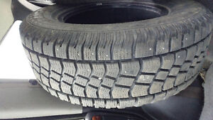 Avalanche studed winter tires