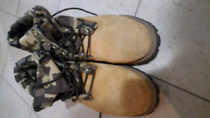 "Men's timberland 6"" camo boots size 10.5"