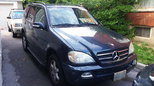 2003 Mercedes-Benz M-Class ML 500 SUV, Crossover