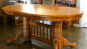 Oak Dining Table for SALE!