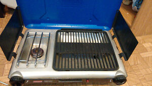 Coleman Electronic Ignition Grill Camp Stove. Excellent deal!