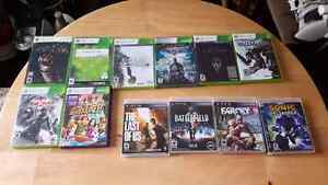 Xbox 360 and PS3 games $10 each