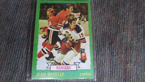 Jean Ratelle 1973-74 Topps NHL card