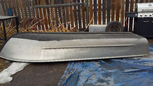 12 ft aluminum boat with motor for sale
