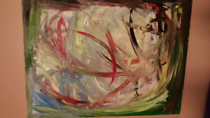 """""""Original Abstract Paintings for Sale"""" Moose Jaw Regina Area image 4"""