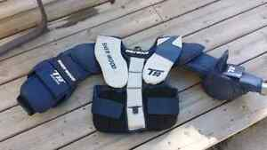 Sherwood junior goalie chest protector