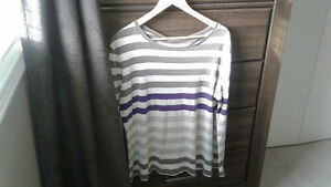 2 ladies long sleeves shirts  size xl