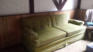 Free couch, armchairs and mattress set - Langley