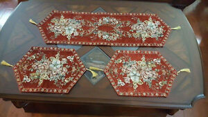 Beaded covers for dining tables , coffee table and others London Ontario image 4