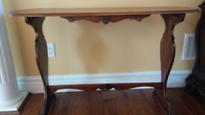 PPU - Vintage Wooden Hall Table