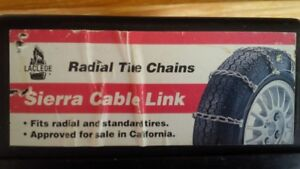 Sierra Cable Link Tire Chains