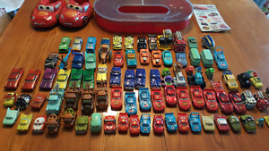 Lot of Disney Cars from First Cars Movie