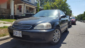 2000 Honda Civic - Manual Transmission - As Is