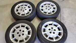 Set of 215 55 16 Nissan Maxima Mags & Tires