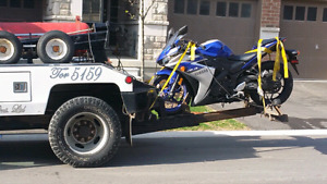 Motorcycle Towing cheap Service Toronto GTA 6477025734 javed