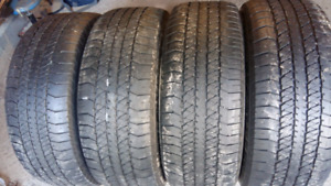 AllSEASON / SUMMER TIRES  275/60 r20    ($195.= SET OF 4TIRES )