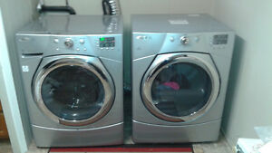 Stainless Steel Washer/Dryer