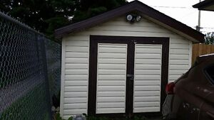 Utility Garden Shed  10 ft wide x 15 long, like new..,..