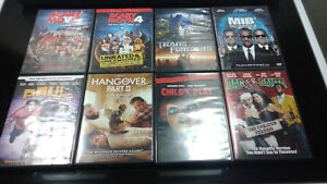 Dvd's for sale . 8 Movies. (DVD)