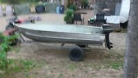 13ft Aluminum Boat For Sale