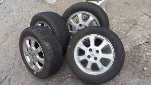 "4 tyres 15"" sava intensa on astra rims Wyndham Vale Wyndham Area Preview"