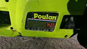 POULAN 1626 16 INCHES CHAINSAW FOR SALE! WORKS GOOD! NEVER USED!