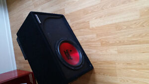 """12"""" subwoofer and amp"""