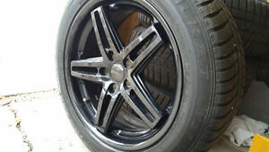 winter tires/rims Falken HS449/Braelin BR05