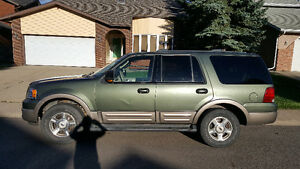 2003 Ford Expedition Eddie Bauer DVD Only $3450 Call 919-5566