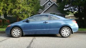 2006 Honda Civic DX Coupe - 93K - 1 owner