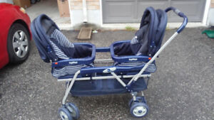 Peg Perego double stroller - used
