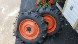 Kioti Tractor Front Rims and Tires