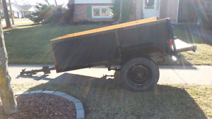4x8 Heavy Duty Utility Trailer
