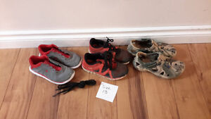 boys shoes size 13