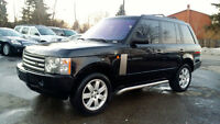 2003 Land Rover Range Rover HSE SUV, Black leather/sunroof