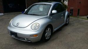 1999 Volkswagen New Beetle GLS Coupe SOLD!!!