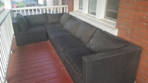 7 Piece Sectional Patio Set
