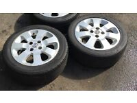 """X1 Vauxhall Corsa C Sxi 15 """" Alloy Wheel & Premium Tyre 185 55 R15 82V Ideal Spare / Replacement"""