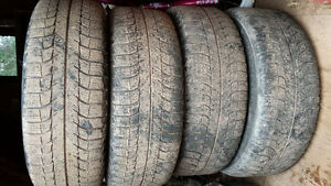 205/60R16 Michelin X-ice 3 on steel rims off 2011 ford fusion