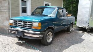 Ford Ranger 1992 4x4 King cab, mag