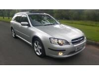 SUBARU LEGACY 2.0 (165bhp) RE SPORTS TOURER, BLACK LEATHER, PAN ROOF