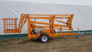 Towable Boom Lift | Kijiji - Buy, Sell & Save with Canada's #1 Local