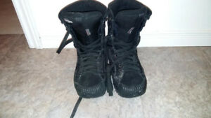 Black Snow Board Boots - Size 9