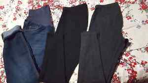 Old Navy maternity XS leggings/Size 4 jeans