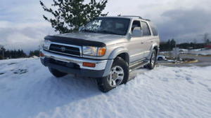 1996 Toyota 4runner Limited edition